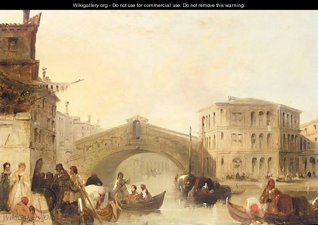The Rialto bridge 2 - Edward Pritchett