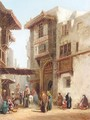 Eastern town square - Henry Pilleau