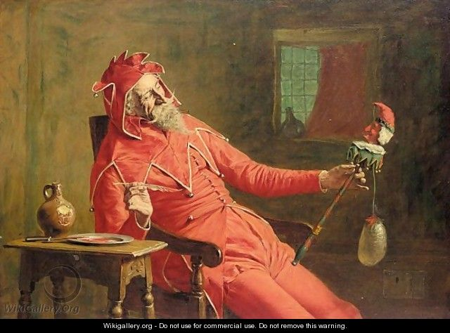 The court jester - John Watson Nicol