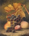 Still life of fruit - Henry George Todd