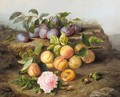Still life fruits and flower - Marie Loustau