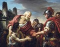 Belisarius, Reduced To Begging, Recognized By A Soldier From The Army Of Emperor Justinian - Francois-Andre Vincent
