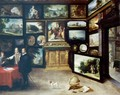 The Interior Of A Picture Gallery - David The Younger Teniers