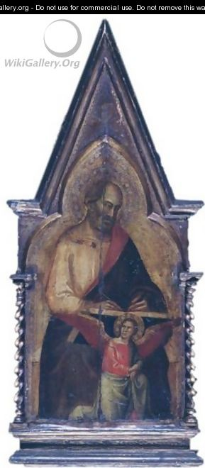 Saint Matthew Pinnacle To The San Giovanni Fuorcivitas Polyptych - Taddeo Gaddi