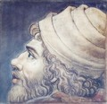 Head Of A Man Fragment From A Cartoon - Tommaso Vincidor