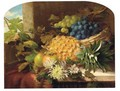 Still Life With Exotic Fruit - William Rickarby Miller