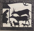 The Nativity Who Were The First To Cry Nowell Animals All As It Befell - Eric Gill