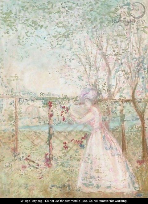 The Orchard 2 - Charles Edward Conder