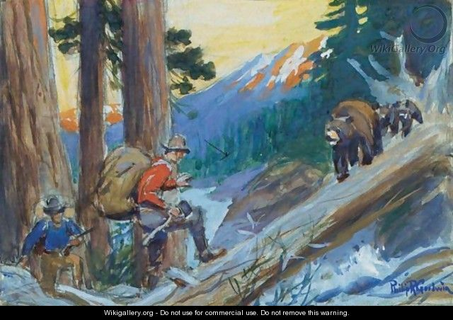 Bear Hunters - Philip Russell Goodwin
