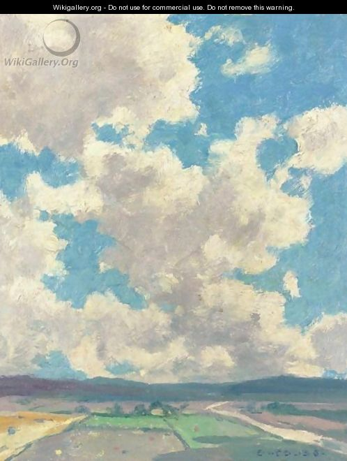 Clouds Over Taos Valley - Eanger Irving Couse