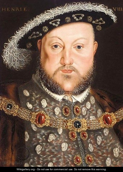 Portrait Of King Henry VIII (1491-1547) - (after) Holbein the Younger, Hans