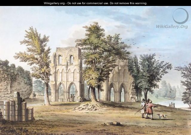 Roche Abbey, Yorkshire - Samuel Hieronymous Grimm