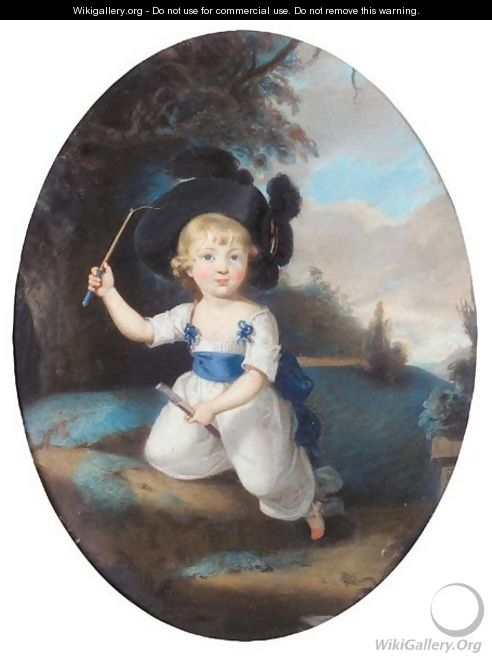 Portrait Of Laurence Sullivan As A Child - Sir Thomas Lawrence