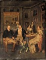 A Family Portrait - (after) Edward Bird