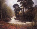 The River In Autumn - Alexander Brownlie Docharty