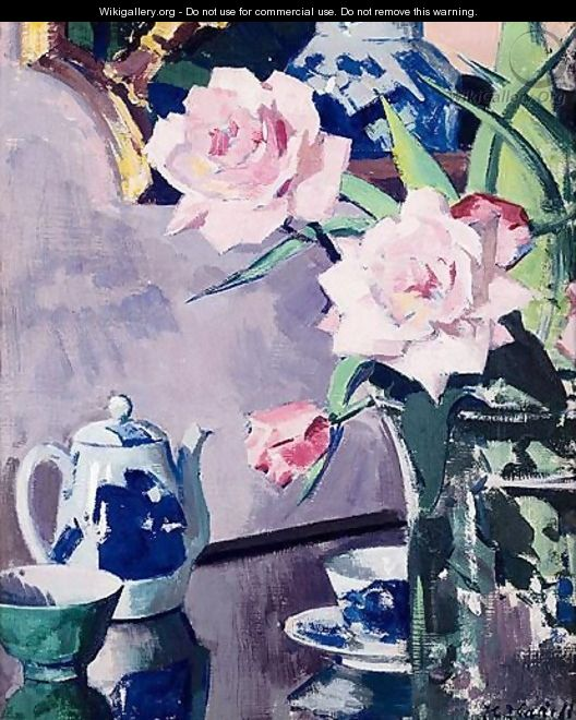 Roses 2 - Francis Campbell Boileau Cadell