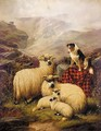 Left In Charge, Scene In Ben Nevis - John Barker