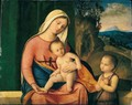 The Madonna And Child With The Infant Saint John The Baptist - Francesco Bissolo