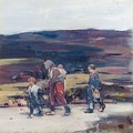 Travellers On The Moor - Hugh Munro