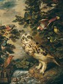 An Owl Mocked By Other Birds - (after) Ferdinand Phillip De Hamilton