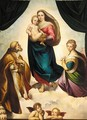 The Sistine Madonna - (after) Raphael (Raffaello Sanzio of Urbino)