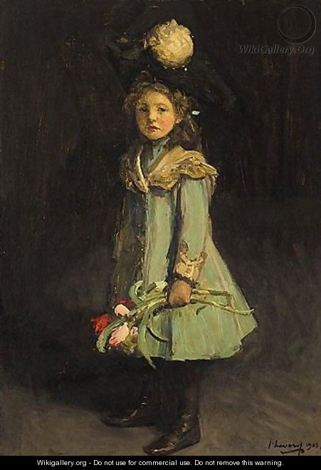 Portrait Of The Honorable Diana Janet Darling - Sir John Lavery