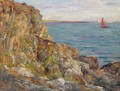 Evening On The Coast Of Brittany - Aloysius O'kelly