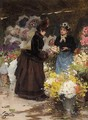 The Flower Seller 3 - Victor-Gabriel Gilbert