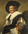 The Laughing Cavalier - (after) Frans Hals