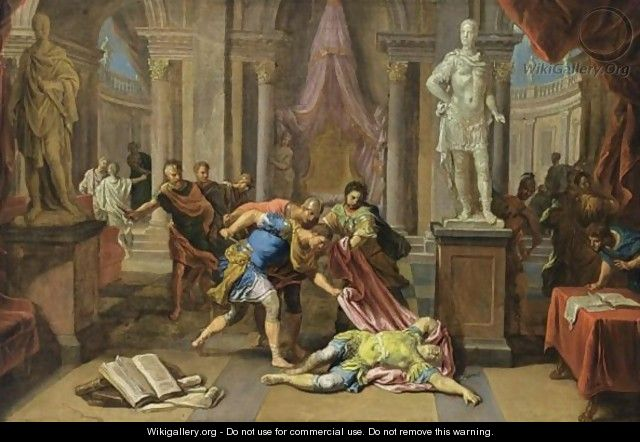 The Death Of Caesar - Victor Honore Janssens