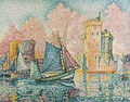 Le Thonier Entrant A La Rochelle (Couchant) - Paul Signac