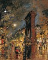 View Of The Arc De Triomphe, Paris - Konstantin Alexeievitch Korovin