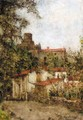 Village In The South Of France - Aleksei Alekseevich Harlamov