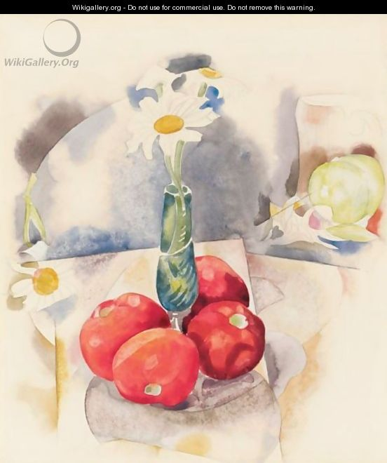 Daisies And Tomatoes - Charles Demuth