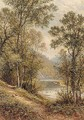 Path On The River Bank - Alfred Glendening