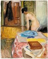Woman In An Interior - Edvard Munch