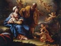 The Holy Family - Paolo di Matteis