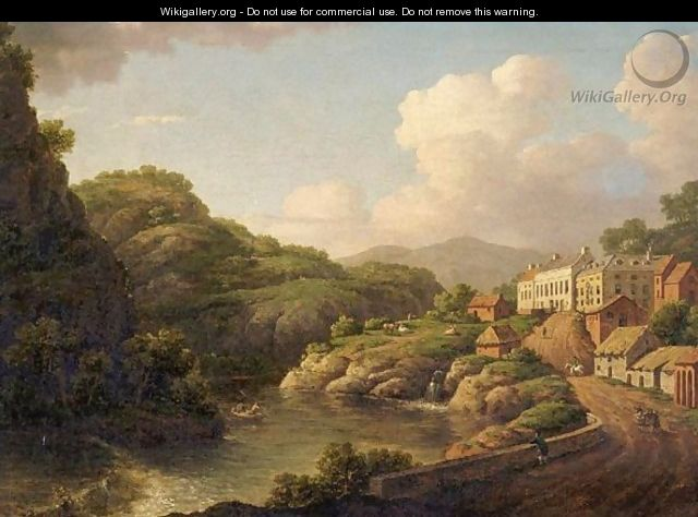 View Of Matlock, Derbyshire - William Marlow