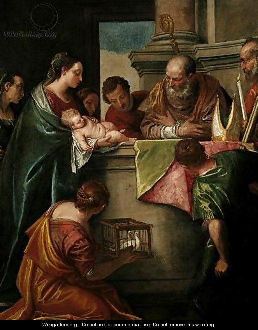 The Presentation Of Christ In The Temple - Paolo Veronese (Caliari)