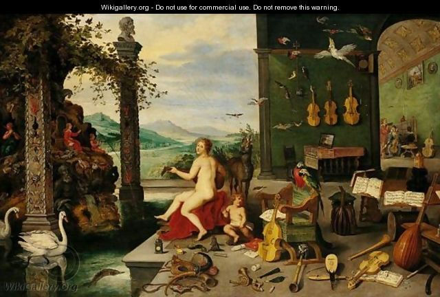 The Sense Of Hearing 2 - Jan, the Younger Brueghel