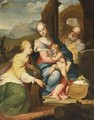 The Mystic Marriage Of Saint Catherine - Sienese School