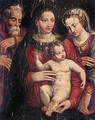 The Mystic Marriage Of Saint Catherine 2 - Bolognese School