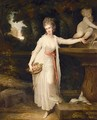Portrait Of Mary Curzon, Lady Stawell (1760-1804) - Richard Cosway