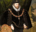 Portrait Of Sir Christopher Hatton (1540-1591) - (after) Marcus The Younger Gheeraerts