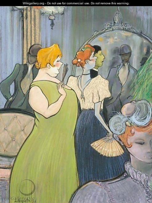 Les Rousses De Maison Close - Louis Anquetin
