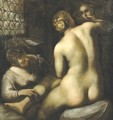 Toilet Of Venus - (after) Jacopo Tintoretto (Robusti)