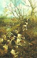 The Fox Hunt A Pair Of Paintings - Arthur Alfred Davis