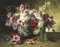 Still Life With Flowers - Jacques Van Coppenolle