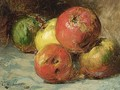 Still Life With Apples - Georges Jeannin