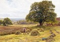 Figures Haymaking - George Vicat Cole